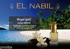 Musc Royal Gold ~ El Nabil, 5ml Alcohol Free Perfume Oil, Arabic Roll On
