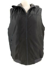 Chaps Winter Vest Jacket Fleece Lined Full Zip Front Black Size Small  Nice!