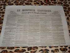 LE MONITEUR UNIVERSEL, journal officiel de l'empire français, n° 171, 20/06/1858