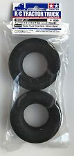 Tamiya 56527 Tractor Truck Tires (Hard/22mm) (2 Pcs) (Scania/MAN) NIP
