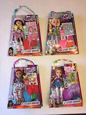 Lot of 4 Bratz Dolls Study Abroad Wave 2 ~ NEW, SEALED Kumi Yasmin Meygan Cloe
