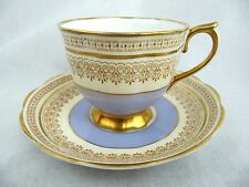ROYAL ALBERT CUP AND SAUCER - VINTAGE PATTERN