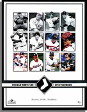 Chicago White Sox - 2012 Yearbook! Loads of Pictures of the Players!