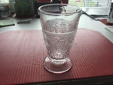 Duncan and Miller #41 Sandwich Crystal 9 Ounce Footed Tumbler Excellent