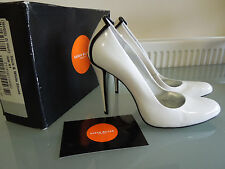 Karen Millen Women's Shoes ~ Black & White patent leather stilettos ~ Size 7.5