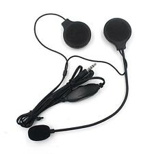 3.5mm Interphone Casque De Moto Doux Multi Micro-casque Interphone Pour MP3