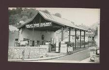 Wales Caernarfonshire LLANDUDNO Great Orme tram Station 1953 photo 129x75mm