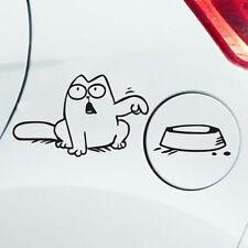 Cute Cartoon Cat Car Vinyl Sticker Bumper Window Laptop Wall Vinyl Decal Sticker