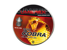 Air rifle Pellets UMAREX COBRA  cal. 5.5 mm .22 200 pcs 1.02 g 15.7 gr