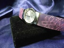 Woman's Quartz Watch with Flower Band B22-581