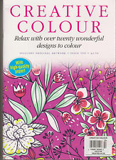 CREATIVE COLOUR MAGAZINE #10, RELAX WITH OVER TWENTY WONDERFUL DESIGN TO COLOUR.