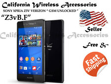 Sony Xperia Z3v D6708 32GB Black (Verizon/Unlocked) Excelent 2 Good Clean Z3vE.G