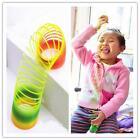 GOUKColorful Rainbow Plastic Magic Slinky Children Classic Toy
