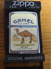 Zippo Camel Turkish and domestick blend, date from 1988, in perfect condition.