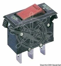 Osculati 12V 15A Resettable Thermal Toggle Switch