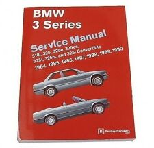 BMW E30 318i 318iC 325 325e 325es 325i 325is 325iC M3 Repair Manual Bentley