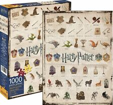 HARRY POTTER Wizarding World Icons 1000 Piece Jigsaw Puzzle, by Aquarius