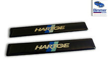 PAIR BMW M5 540 528 e39 Door Side Moulding Motorsport Emblem Badge HARTGE