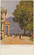 VILLA CARLOTTA - LAGO DI COMO - CAPPELLA - PITT.POLESELLO - GRIANTE (COMO) 1930