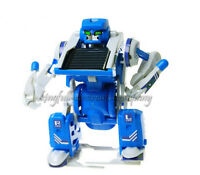 3 In 1 Solar Toy Robot Tank  Educational Assembly DIY Kit For Kids mode