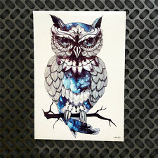 Temporary Tattoo Decal Waterproof Owl Style Body Arm Art Transfer Stickers DIY