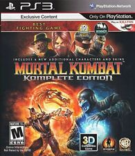 Mortal Kombat - Complete Edition - Playstation 3 Game