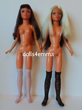 Tiffany Taylor Doll Clothes accessories Lot of 2 pairs STOCKINGS Silver & Black