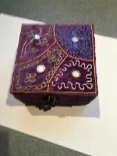 Pier 1 Purple Jewelry box