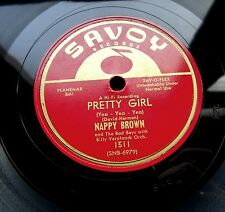 0661/ NAPPY BROWN -Pretty girl-I´ m gonna get you-Rhythm and Blues-R&B-Schellack