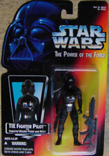 1995 KENNER TIE FIGHTER PILOT STAR WARS POWER OF THE FORCE action figure potf