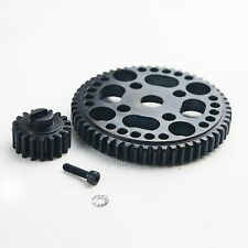US KING MOTOR Steel 56T Spur Gear and18T Pinion for HPI ROVAN BAJA SC 5B 5T