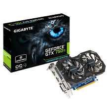 Gigabyte NVIDIA GeForce GTX 750 Ti 4GB GDDR5 Graphics Card PCI Express 3.0 HDMI