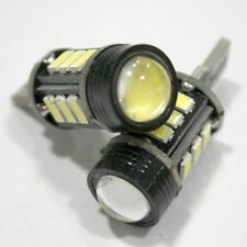 2X T10 5730 12SMD + 1.5W Canbus No Error LED Car Clearance Light Cold White Bulb