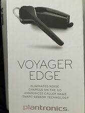 Plantronics Voyager Edge Bluetooth Headset Caller ID with Charging Case - Black