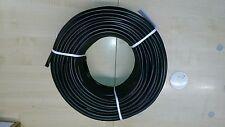 ISOLIERSCHLAUCH AUS WEICH-PVC 85°C - Bougierrohr - 6,0 x 0,6 mm 100 Meter