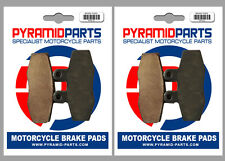 KTM GS 350 1988 Front & Rear Brake Pads Full Set (2 Pairs)