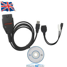 ECU TUNING TOOL REMAP FLASHER CABLE PROGRAMMER 1260 OBD OBD2 EOBD USB PC LEAD UK