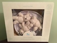 NWT Pottery Barn Kids Sherpa Bear Crib Musical Baby Nursery MOBILE...New