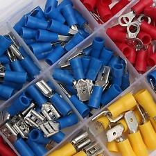 280Pcs Assorted Insulated Electrical Terminals Crimp Spade Wire Connector Set SS