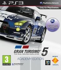Sony PlayStation 3 PS3 Game - Gran Turismo 5: Academy Edition GT 6 PS4 BEST