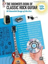 The Boomer's Book of Classic Rock Guitar '70s '80s Sheet Music 56 Esse 000322243