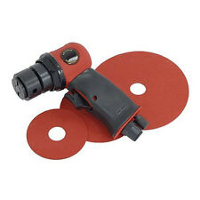 "5"" AIR ORBITAL SANDER POLISHER 140MM AIR COMPRESSOR TOOL & 3 PADS"