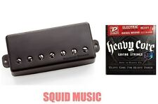Seymour Duncan Nazgul 7 String Black Metal Cover ( 1 FREE SET OF DUNLOP STRINGS)