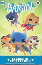 Funko DC Legion of Collectors Comic Book - Batgirl - Girls of DC - New