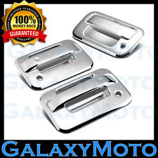 04-14 Ford F150 Chrome 2 Door Handle+no keypad+Passenger keyhole+Tailgate Cover