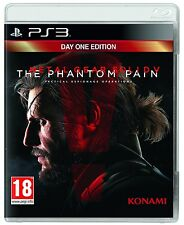 Metal Gear Solid V: The Phantom Pain - Day One Edition [PS3, Region Free] NEW