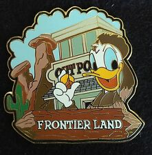 2001 WESTERN DONALD FRONTIER LAND FRONTIERLAND MAGIC KINGDOM LAND SERIES LE PIN