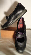 Merrell Allure Black Leather, Adjustable Strap, Mary Janes/Shoes, Womens 9