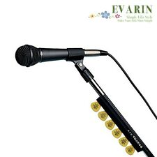 Guitar Pickholder Bass Picks Pick Holder Rubber Mic Microphone Stand Attach Play