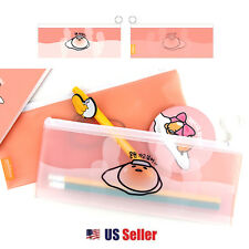 Sanrio Gudetama Lazy Egg Multi Purpose Pouch Slim Pencil Case : Hot Spa Spring